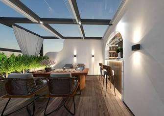 豪华型140平米别墅中式风格阳光房图