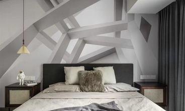 100平米三室一厅港式风格卧室效果图