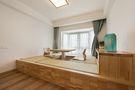 富裕型130平米三室两厅日式风格卧室图片