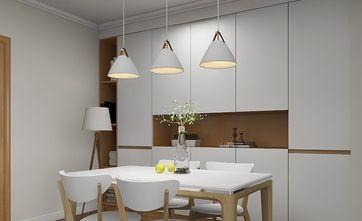 5-10万80平米北欧风格餐厅设计图