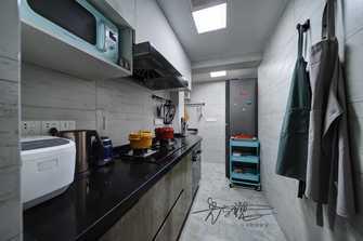 70平米三室三厅北欧风格厨房装修案例