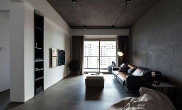 120平米三室一厅工业风风格客厅设计图
