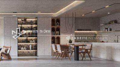 140平米四室两厅工业风风格餐厅装修图片大全