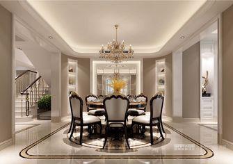 140平米四美式风格餐厅图片大全