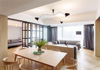 20万以上90平米三室一厅北欧风格餐厅图片大全