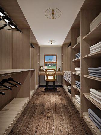 140平米三室两厅美式风格衣帽间欣赏图