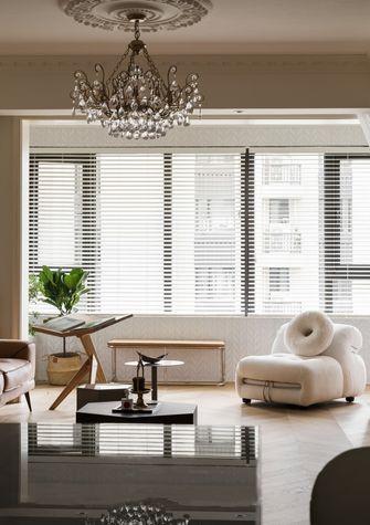 富裕型90平米三室两厅法式风格阳台装修效果图