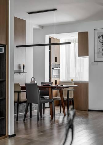 5-10万130平米三室两厅中式风格餐厅装修案例