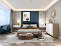 140平米复式港式风格卧室装修效果图