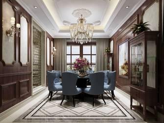 20万以上140平米别墅新古典风格餐厅设计图