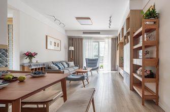 3万以下120平米三室两厅日式风格餐厅设计图