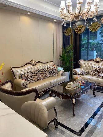 富裕型140平米别墅混搭风格客厅图片