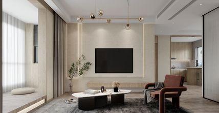 20万以上120平米日式风格客厅装修效果图