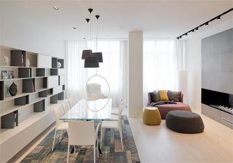 豪华型70平米一室一厅北欧风格餐厅图