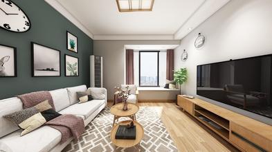 富裕型90平米日式风格客厅设计图