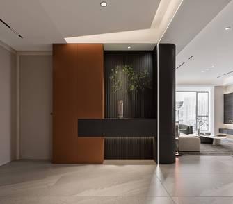 130平米三室两厅现代简约风格玄关图片