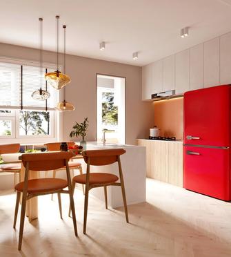 10-15万110平米三室一厅现代简约风格厨房图片