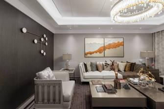 豪华型80平米三室两厅中式风格客厅装修案例