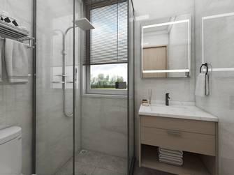 10-15万80平米一室一厅北欧风格卫生间效果图