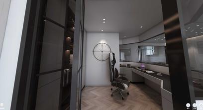3万以下140平米四室两厅现代简约风格影音室装修效果图