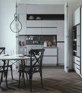 30平米以下超小户型北欧风格厨房装修图片大全