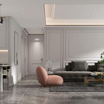 豪华型120平米三室两厅现代简约风格走廊装修案例