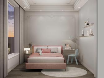 豪华型120平米三室一厅英伦风格青少年房效果图