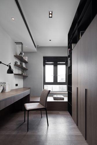5-10万70平米一室两厅现代简约风格书房装修案例