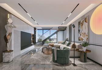 豪华型140平米复式轻奢风格客厅装修案例