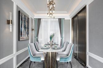 富裕型90平米三室两厅欧式风格餐厅图