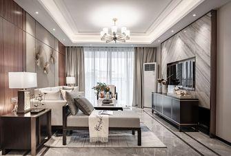 经济型120平米三室三厅轻奢风格客厅装修图片大全