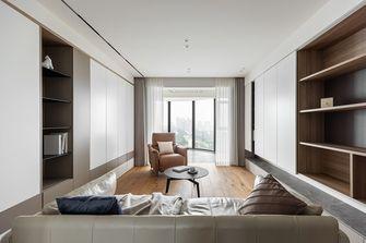 富裕型140平米三室三厅现代简约风格客厅图
