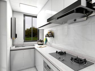 经济型90平米三室一厅混搭风格厨房欣赏图