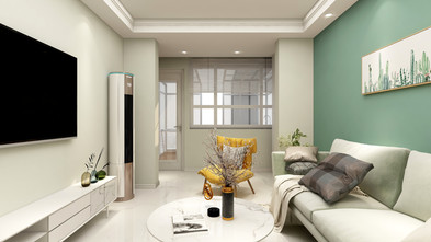 50平米一居室北欧风格客厅装修图片大全