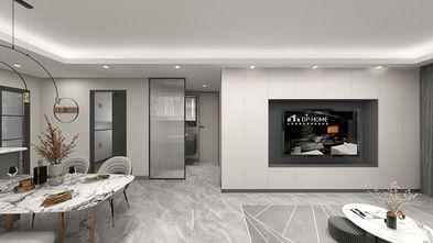 80平米三现代简约风格客厅图片大全
