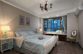 富裕型70平米美式风格卧室图