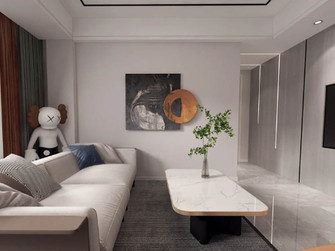 10-15万120平米三轻奢风格客厅效果图