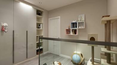 20万以上80平米三室一厅现代简约风格走廊效果图