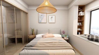 15-20万90平米三室一厅日式风格卧室欣赏图