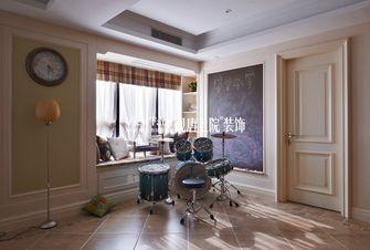 140平米三室两厅田园风格阳台图片