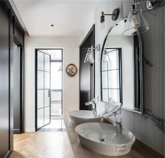富裕型110平米三室两厅新古典风格卫生间图片大全