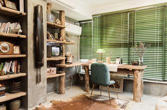 经济型140平米三室两厅混搭风格书房图片