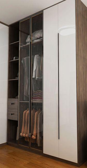富裕型三室一厅现代简约风格衣帽间图