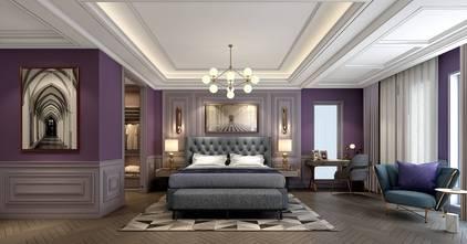 20万以上140平米别墅法式风格卧室装修案例