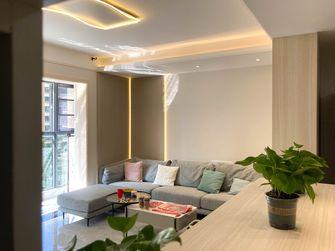 富裕型100平米三室两厅日式风格客厅装修案例