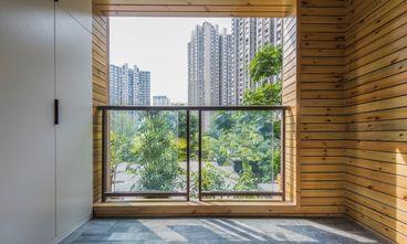 10-15万100平米三室一厅北欧风格阳台装修图片大全