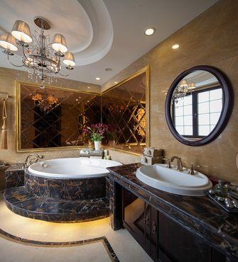 20万以上120平米别墅新古典风格卫生间装修图片大全