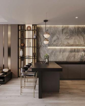 10-15万100平米一室一厅轻奢风格餐厅图片大全
