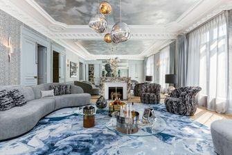 豪华型130平米四法式风格客厅图