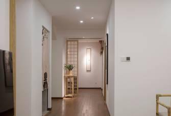 富裕型90平米三现代简约风格走廊装修案例